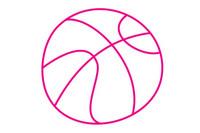 篮球简笔画图片大全、教程
