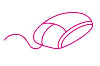 鼠标简笔画图片大全、教程