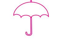 雨伞简笔画图片大全、教程