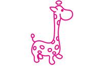 长颈鹿简笔画图片大全、教程