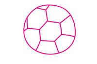 足球简笔画图片大全、教程