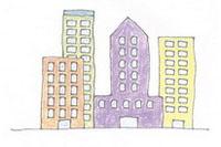 高楼简笔画简单画法