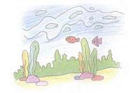 海底简笔画简单画法