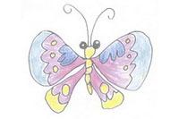 蝴蝶简笔画简单画法