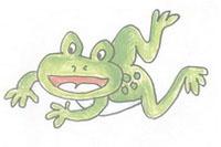 青蛙简笔画简单画法
