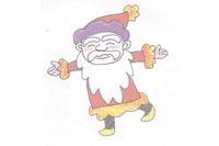 圣诞老人简笔画简单画法