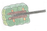 炸药包简笔画简单画法