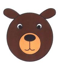 狗熊头像简笔画怎么画
