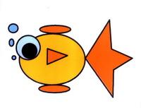 金鱼简笔画怎么画