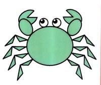 螃蟹简笔画怎么画