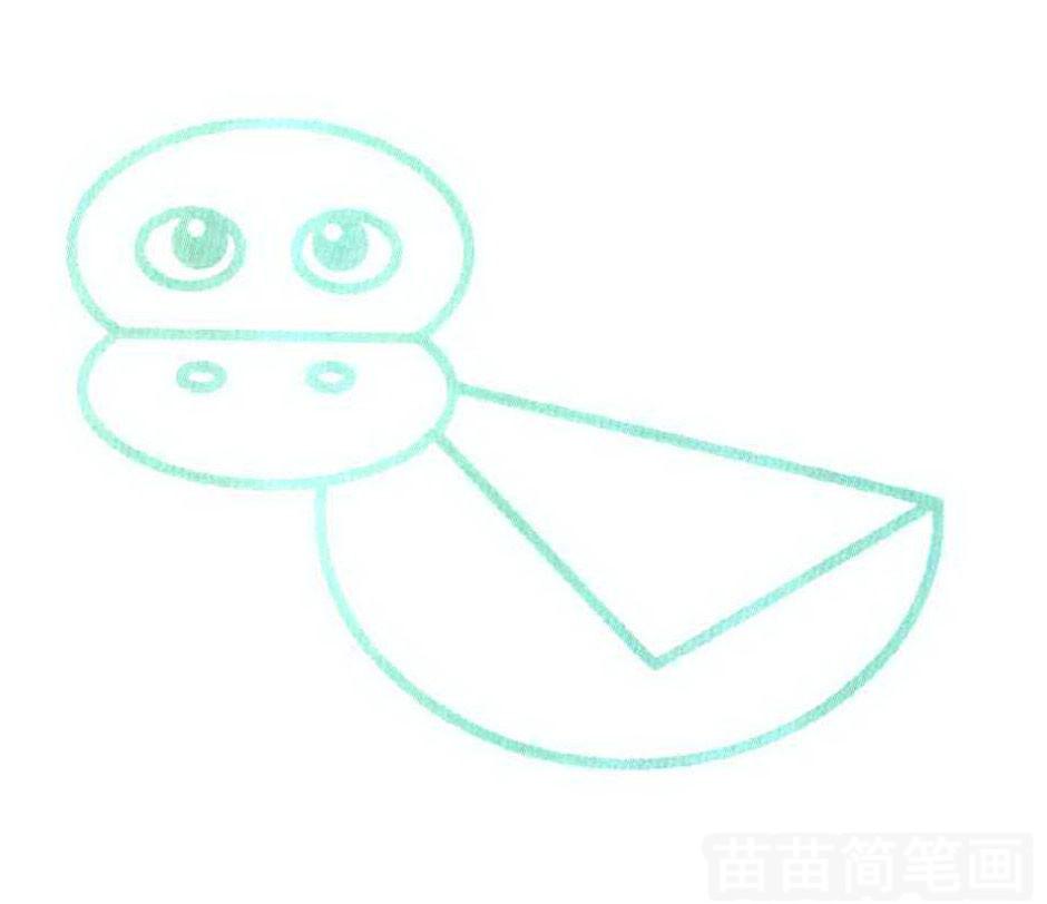 鸭子简笔画怎么画