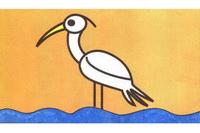 鹭鸶简笔画怎么画