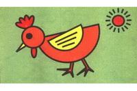 母鸡简笔画怎么画