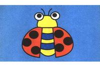 瓢虫简笔画步骤分解彩色教程
