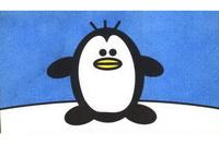 企鹅简笔画步骤分解彩色教程