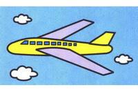 客机简笔画怎么画