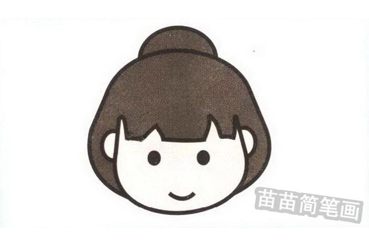 日本人彩色简笔画图片