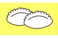 饺子简笔画怎么画