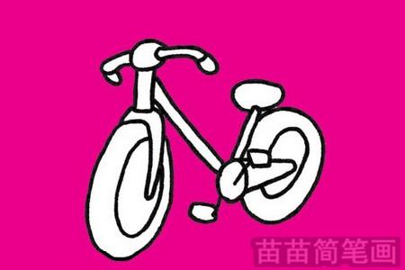 自行车简笔画图片大全作品四