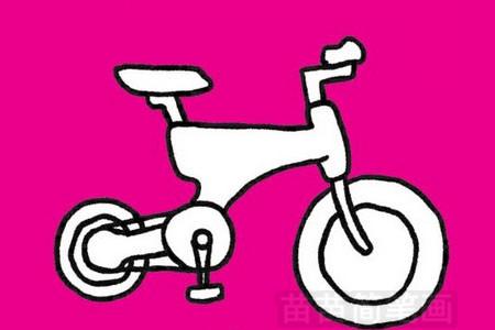 自行车简笔画图片大全作品五