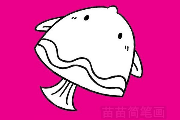 鱼简笔画图片大全作品三