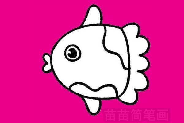 鱼简笔画图片大全作品五