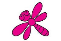 蜻蜓简笔画图片大全、教程