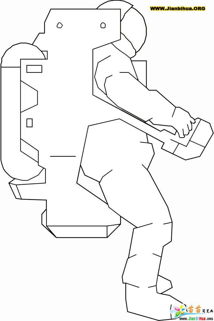 宇航员简笔画图片11张简介:该简笔画作品上传于2012-10-22,一共11张,首张简笔画图片格式为JPG,尺寸为562x331像素,大小为13 KB,由新建县西山镇合上小学冯健文上传。 本站推荐镜子简笔画图片,电冰箱简笔画图片大全(4个教程),城堡简笔画的画法,高压锅简笔画图片教程,傍晚简笔画的画法,火箭简笔画怎么画图解教程,短裤简笔画图片教程,希望你喜欢。