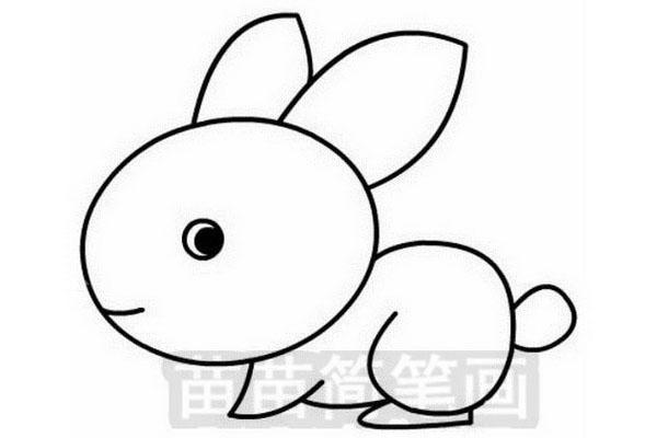 小兔子简笔画