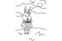 小兔子简笔画怎么画简单又漂亮
