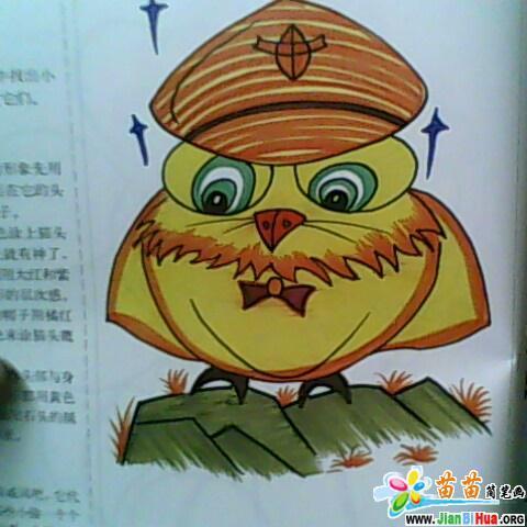 苦行僧简笔画(人物篇)