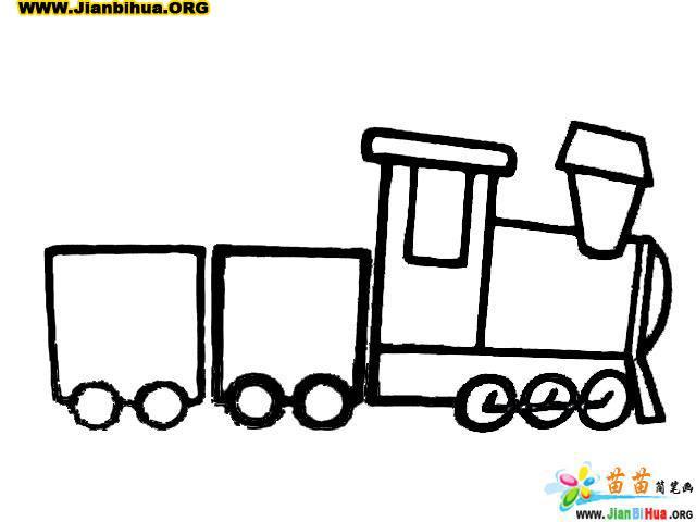 玩具小娃娃简笔画_小火车简笔画_小房子简笔