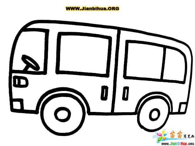 小卡车简笔画图片大全_巨型汽车大全图片简笔画