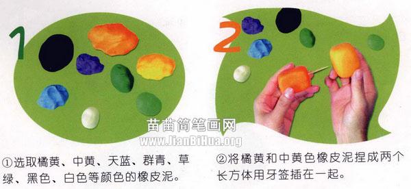橡皮泥手工制作教程:仙人球         橡皮泥手工制作教程:飞机